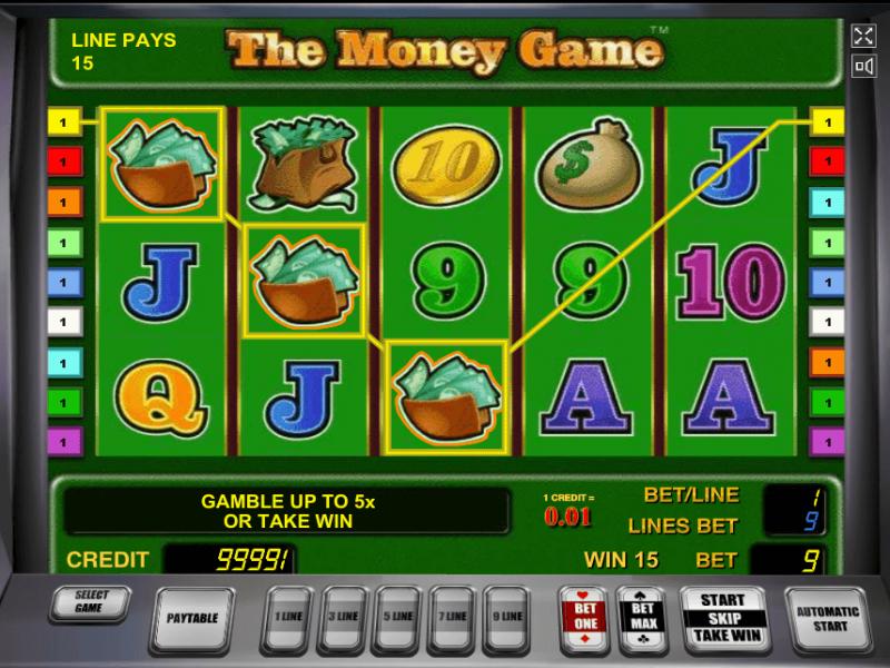 Игровой автомат Игра в Деньги — онлайн-игра